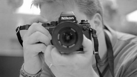 Photographer Tony Schreck